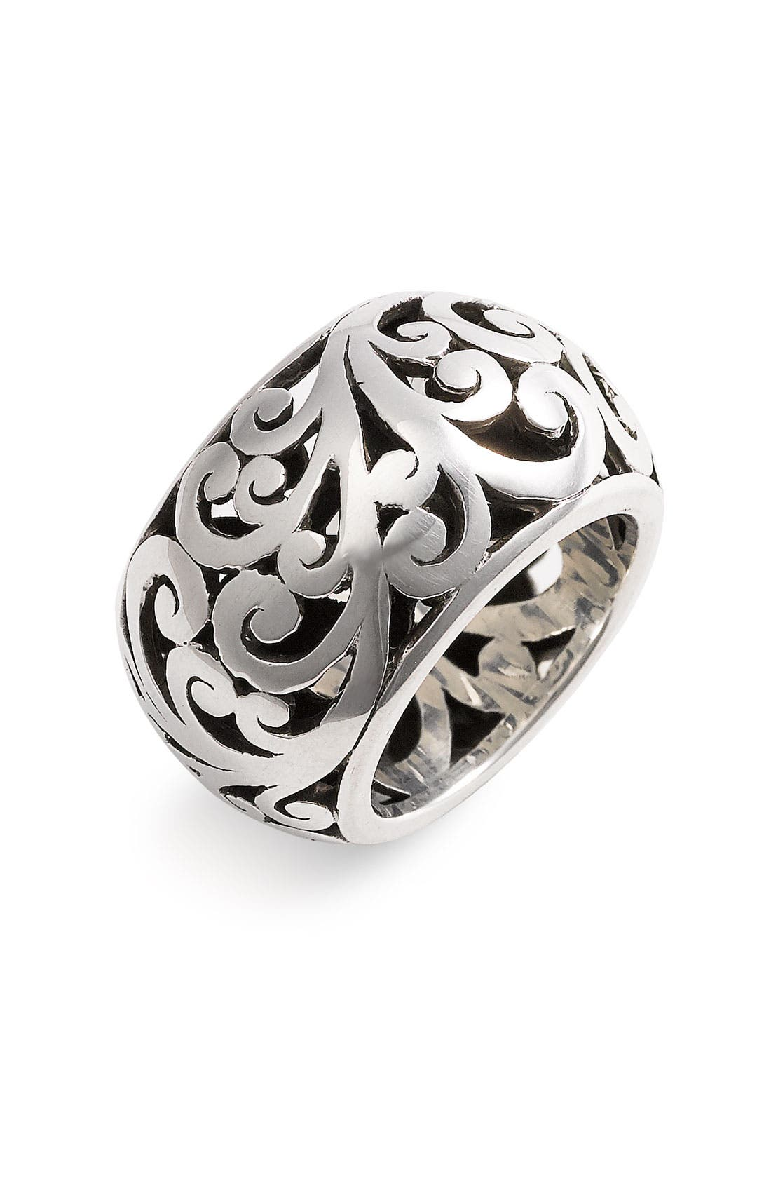 Alternate Image 1 Selected - Lois Hill 'Cage' Cigar Band Ring
