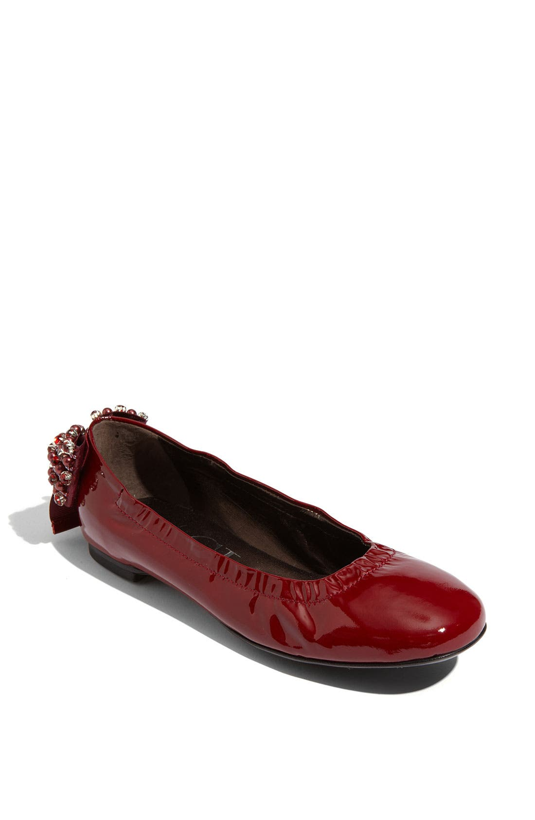 Alternate Image 1 Selected - Attilio Giusti Leombruni Embellished Bow Flat