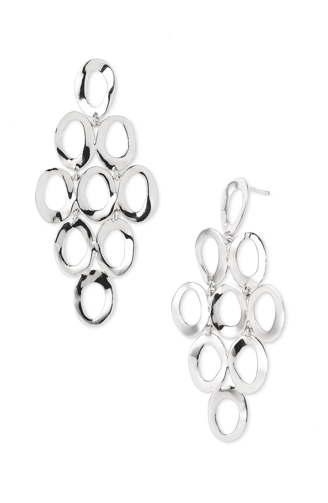 Alternate Image 1 Selected - Ippolita Open Oval Cascade Earrings