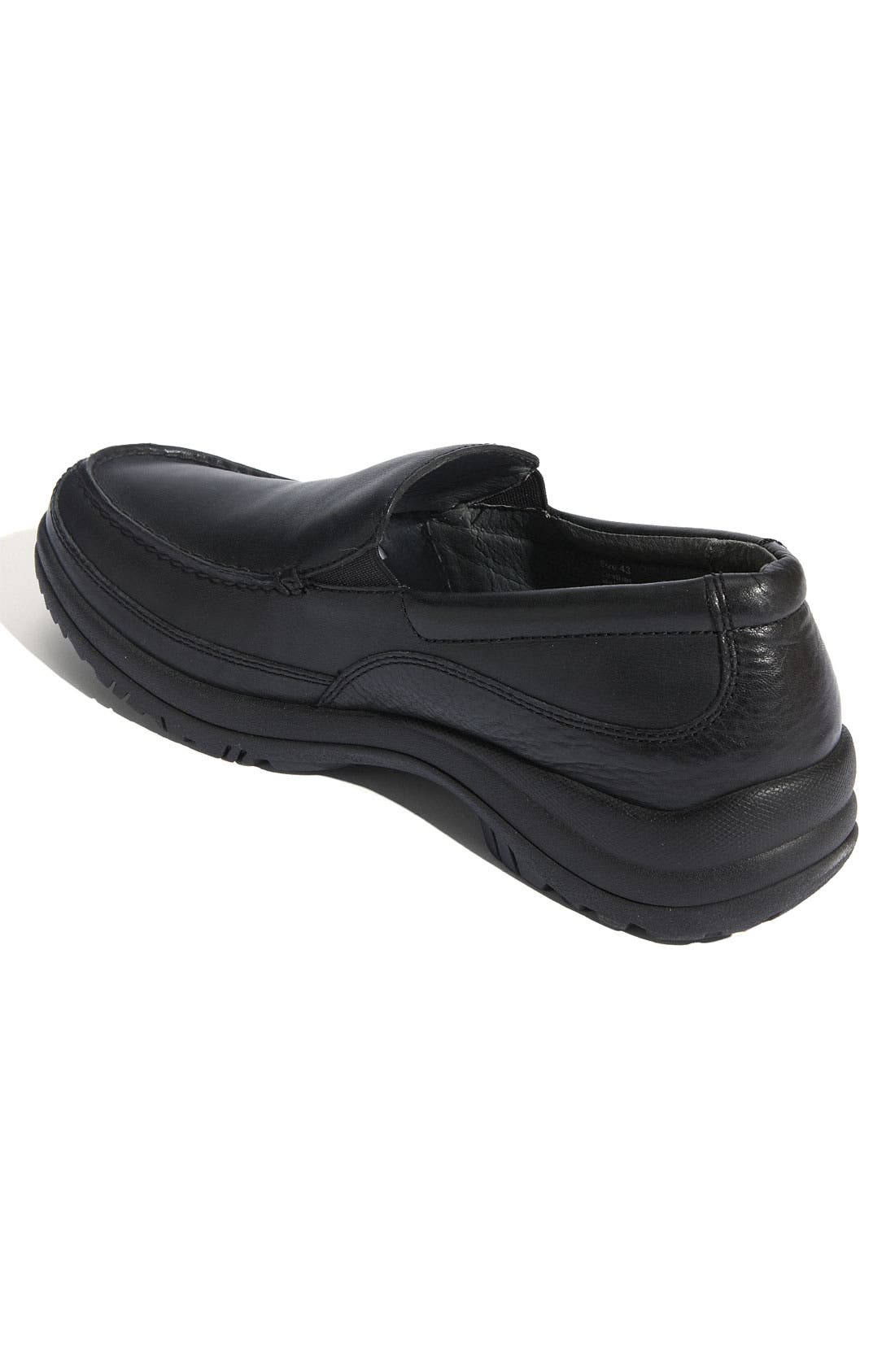'Wayne' Slip-On,                             Alternate thumbnail 2, color,                             Black