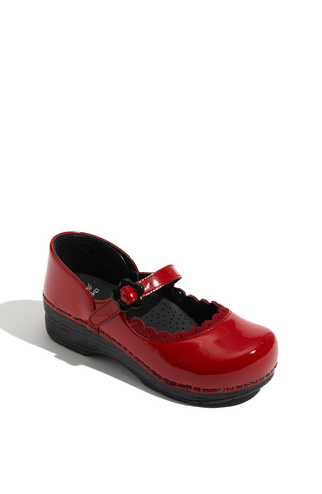 Main Image - Dansko 'Jill' Mary Jane Clog (Toddler, Little Kid & Big Kid)