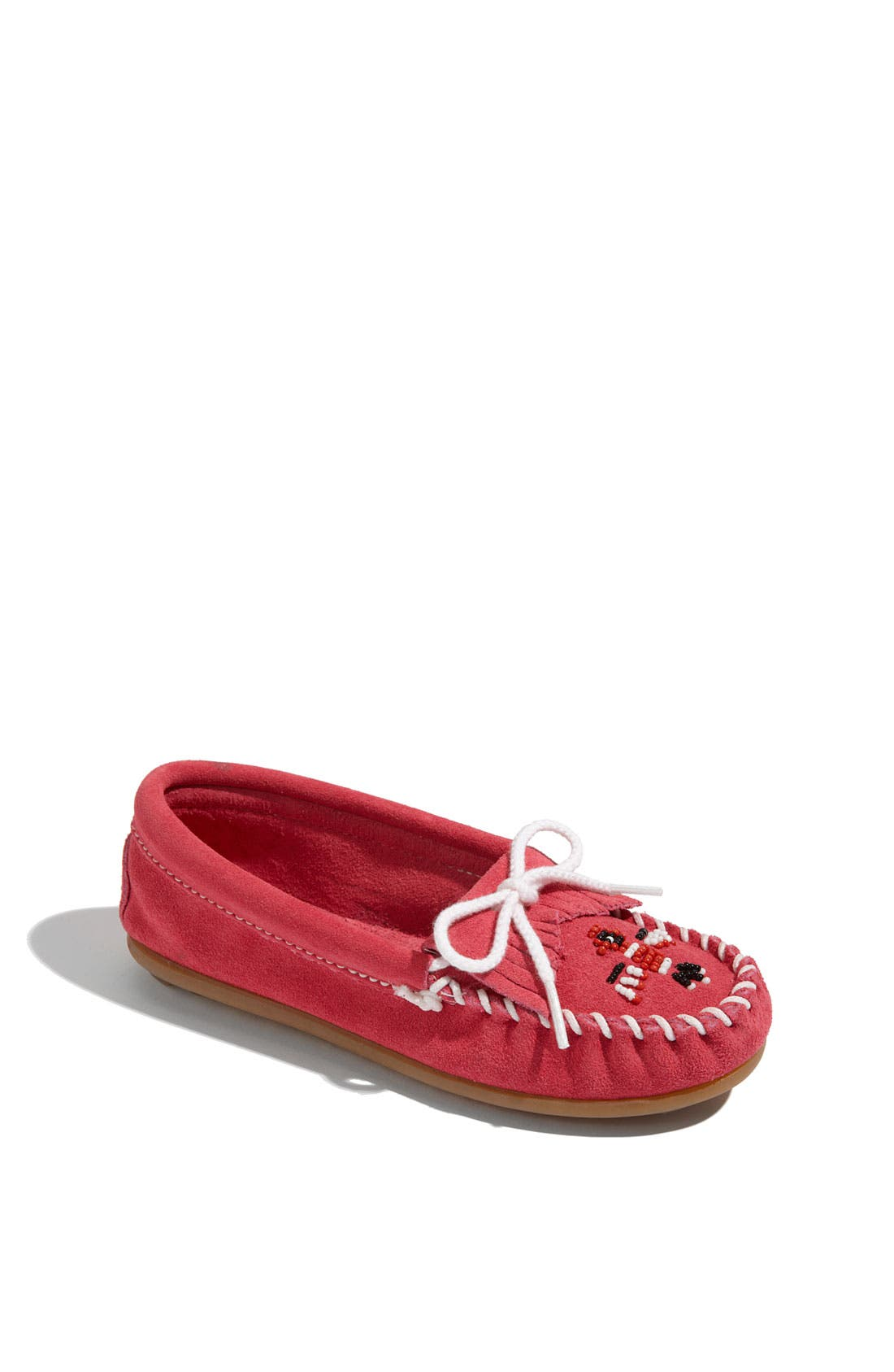 Alternate Image 1 Selected - Minnetonka 'Thunderbird' Moccasin (Toddler, Little Kid & Big Kid)