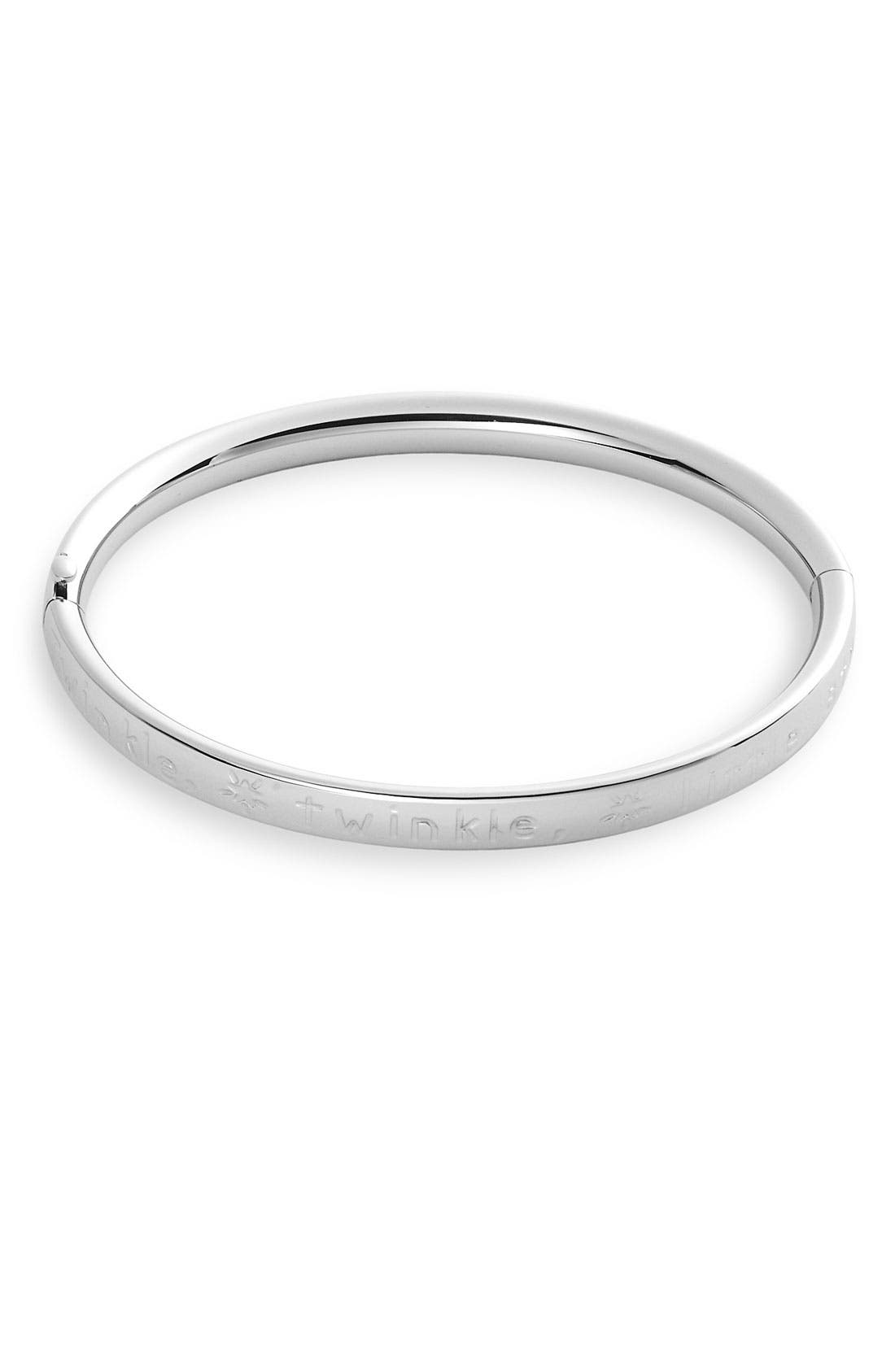 Alternate Image 1 Selected - Silver Bangle (Infant)