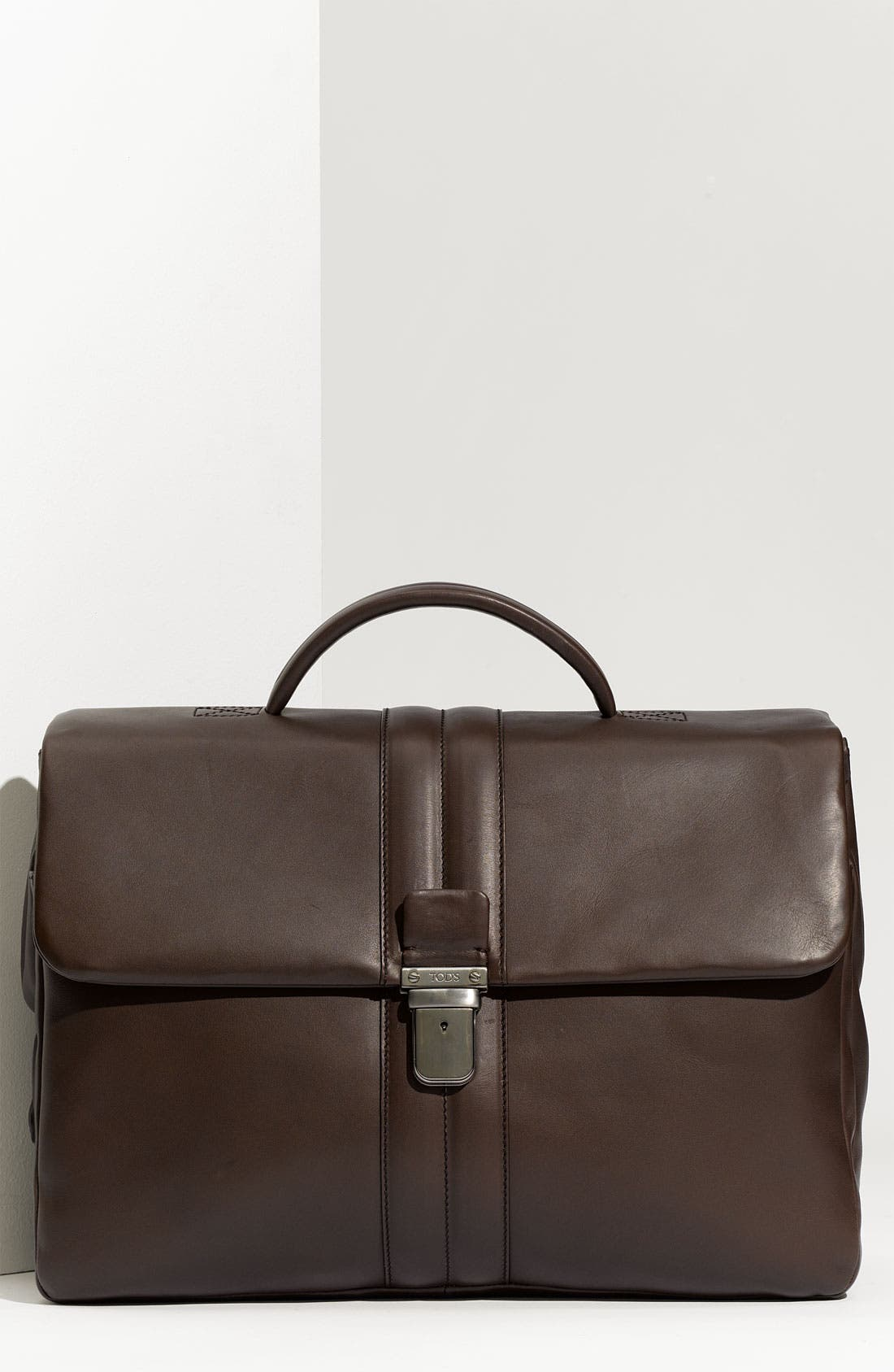 Main Image - Tod's Smooth Leather Briefcase