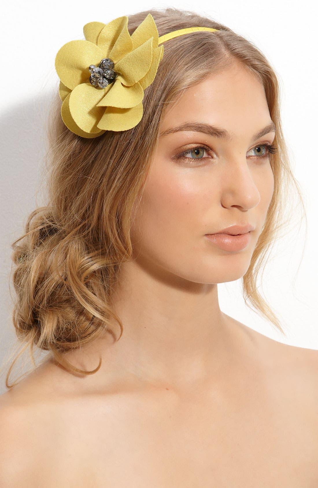 Main Image - Cara Accessories 'Lovely Lady' Flower Headband