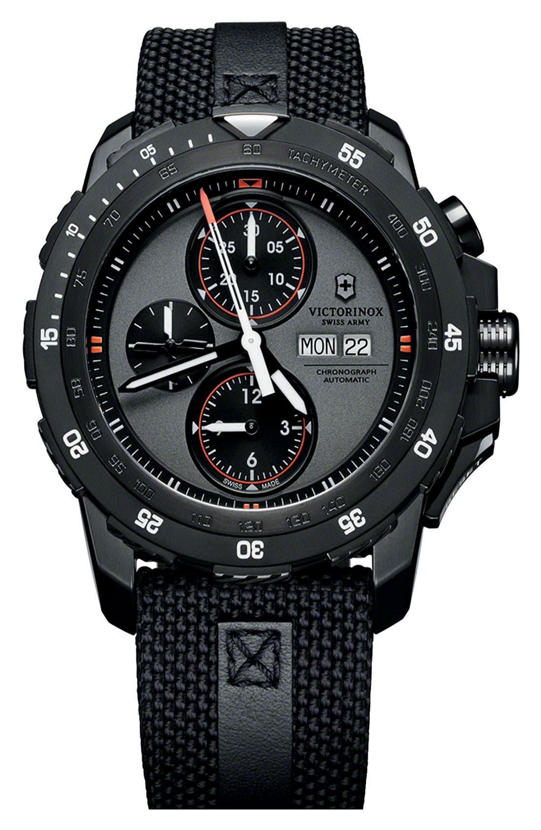 Main Image - Victorinox Swiss Army® 'Alpnach' Automatic Chronograph Watch, 44mm