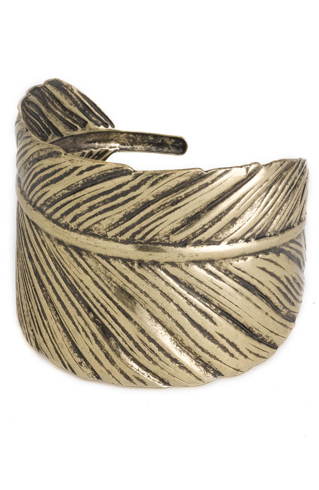 Alternate Image 1 Selected - Stephan & Co. Wide Leaf Cuff