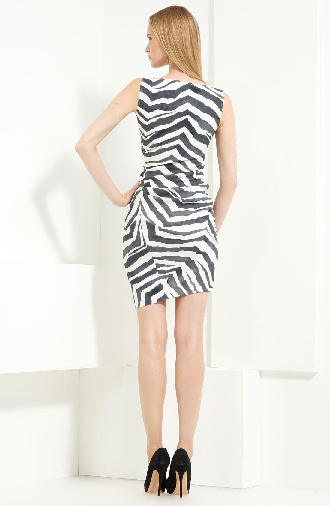 Alternate Image 2  - Emilio Pucci Stretch Wool Blend Dress