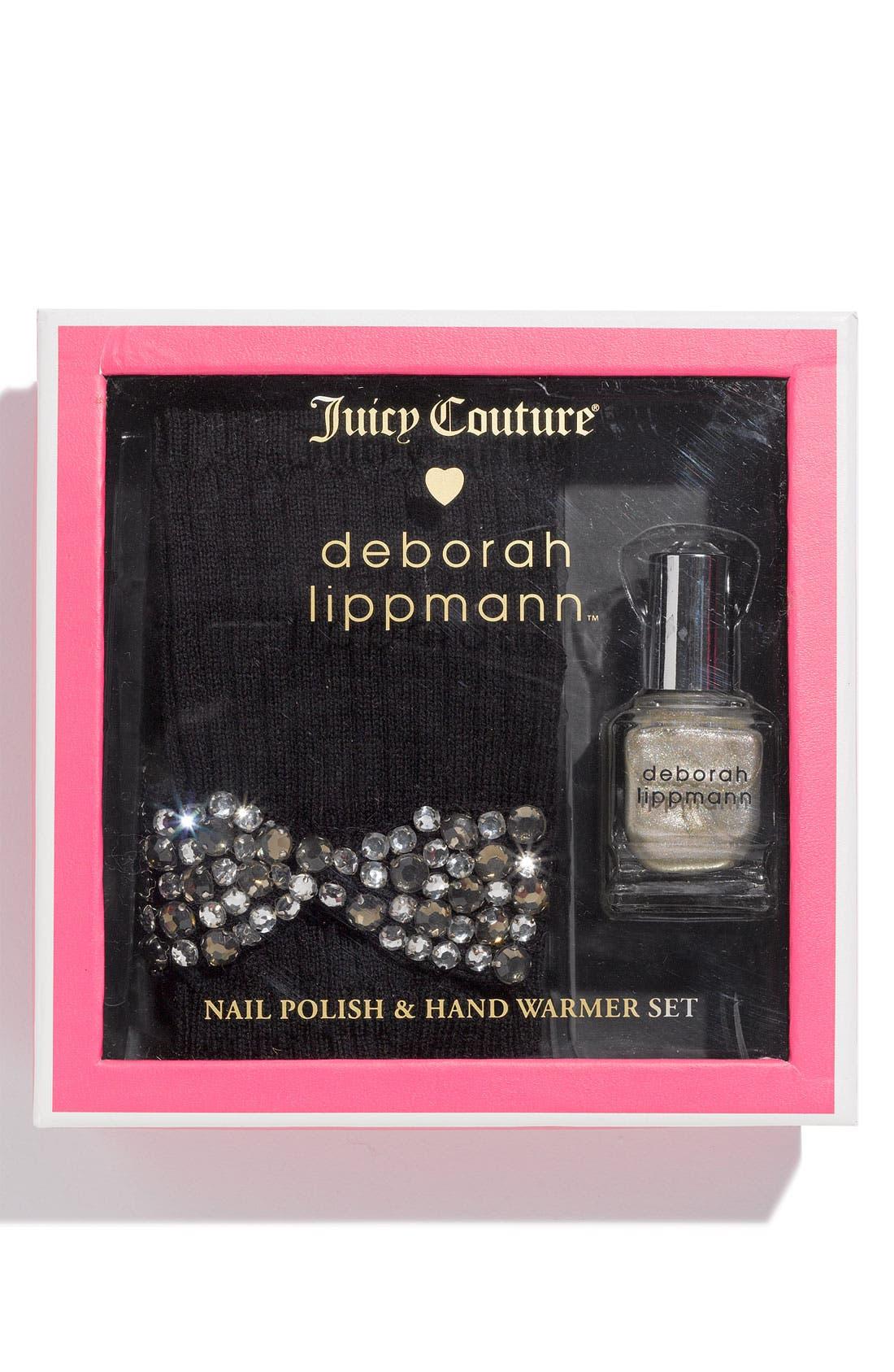 Alternate Image 1 Selected - Juicy Couture Nail Polish & Hand Warmer Set
