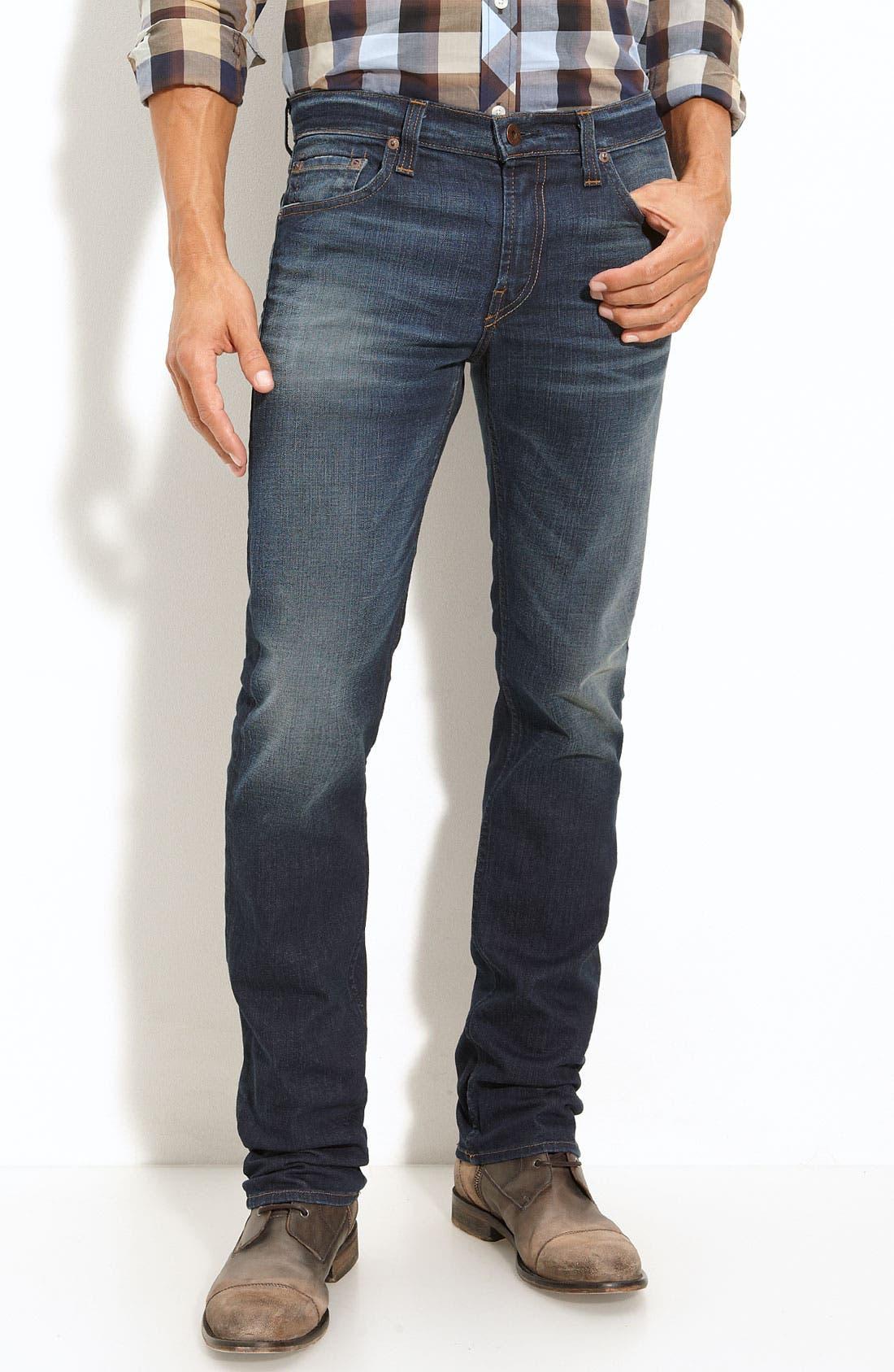 Alternate Image 3  - J Brand 'Kane' Slim Straight Leg Jeans (Javelin)