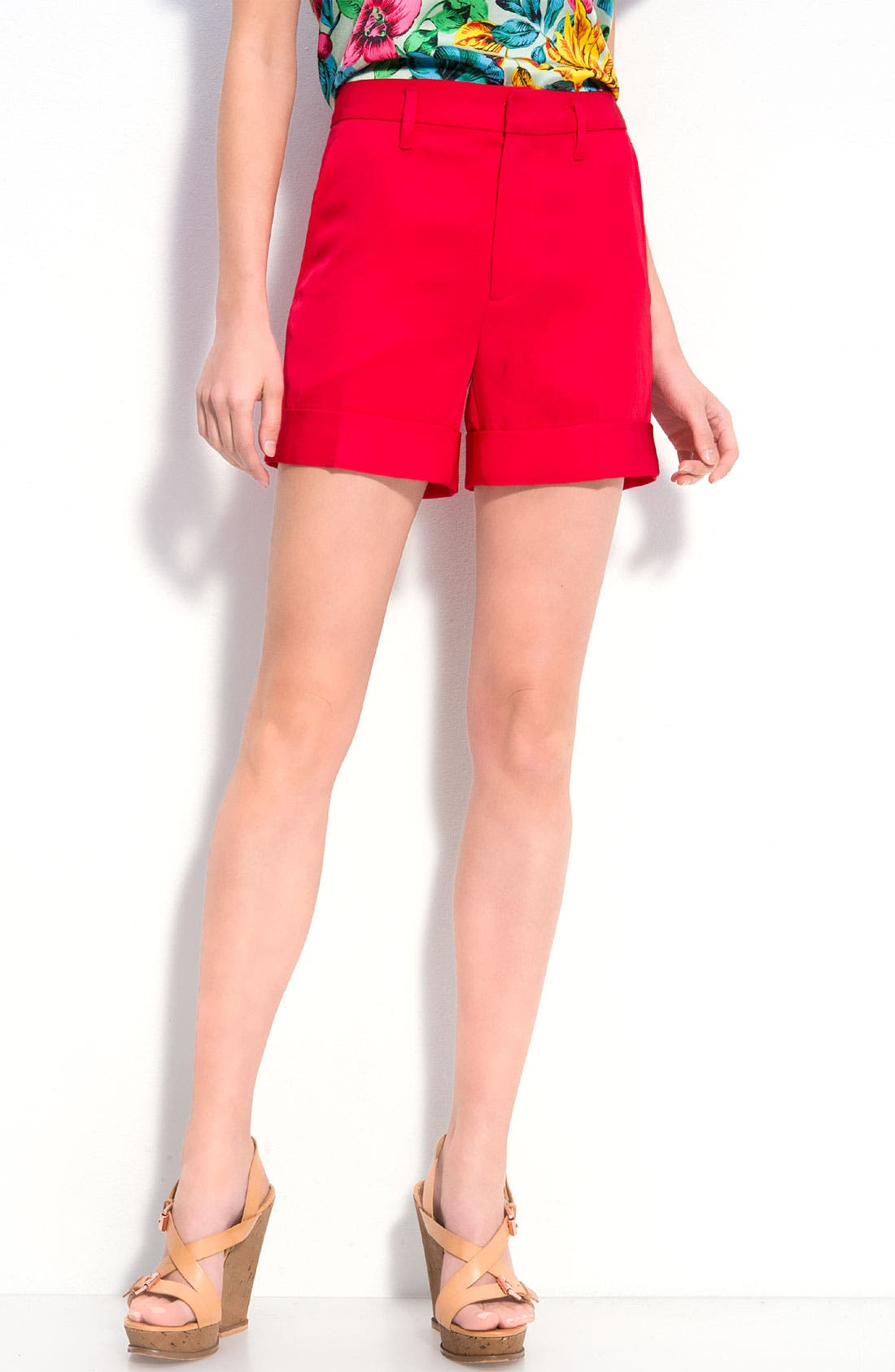 Alternate Image 1 Selected - MARC BY MARC JACOBS 'Clark' Twill Shorts
