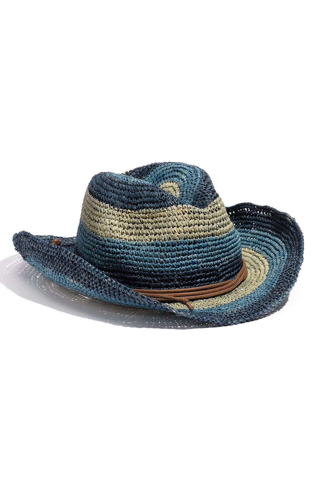 Main Image - Tarnish Stripe Cowboy Hat