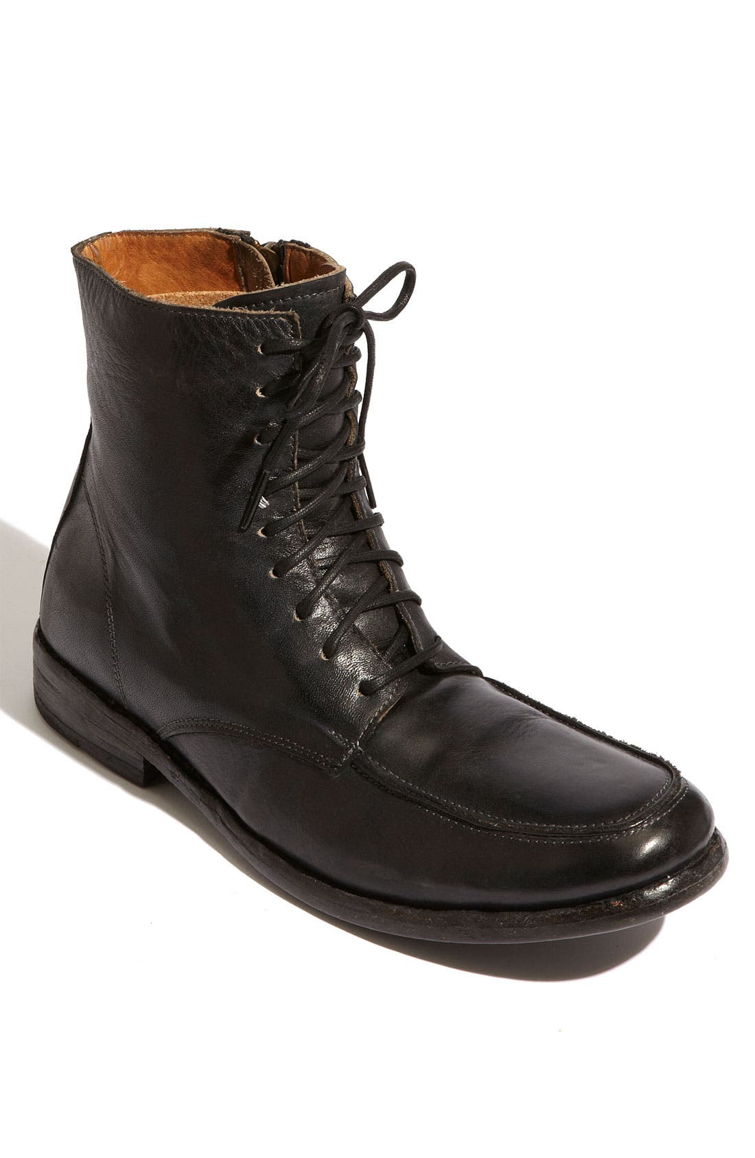 'Leo' Boot,                             Main thumbnail 1, color,                             Black Rustic