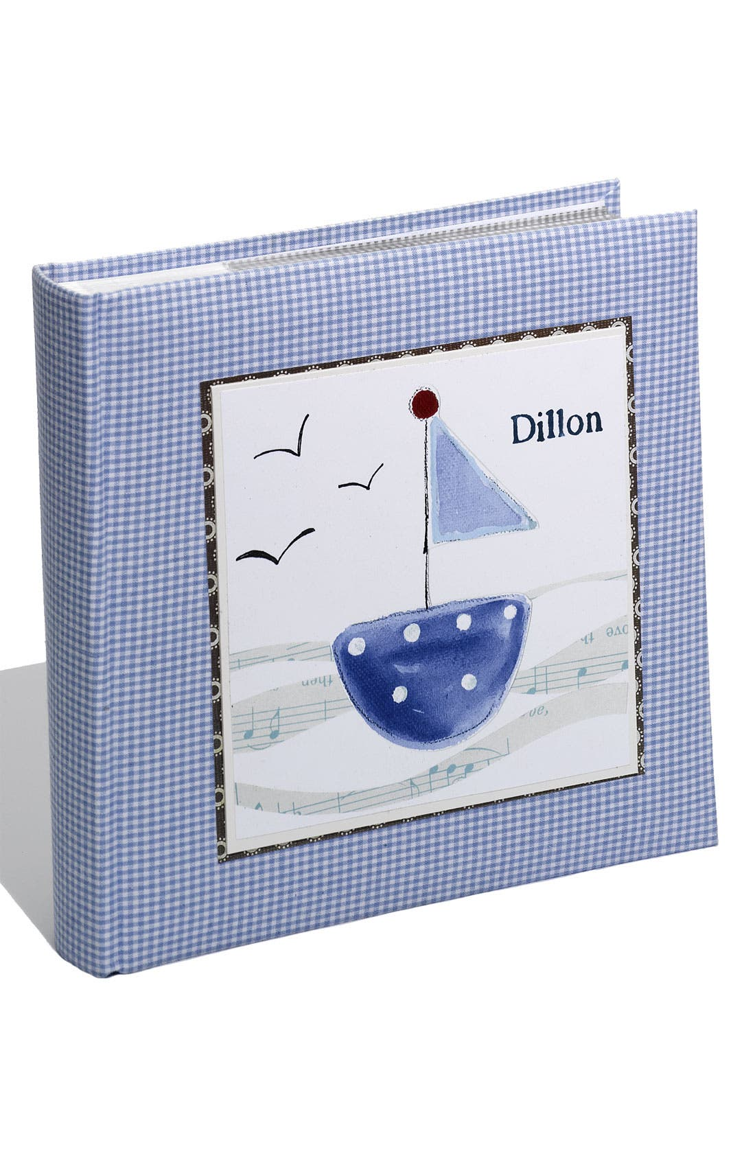 Alternate Image 1 Selected - Someday Inc. Personalized Gingham Photo Album