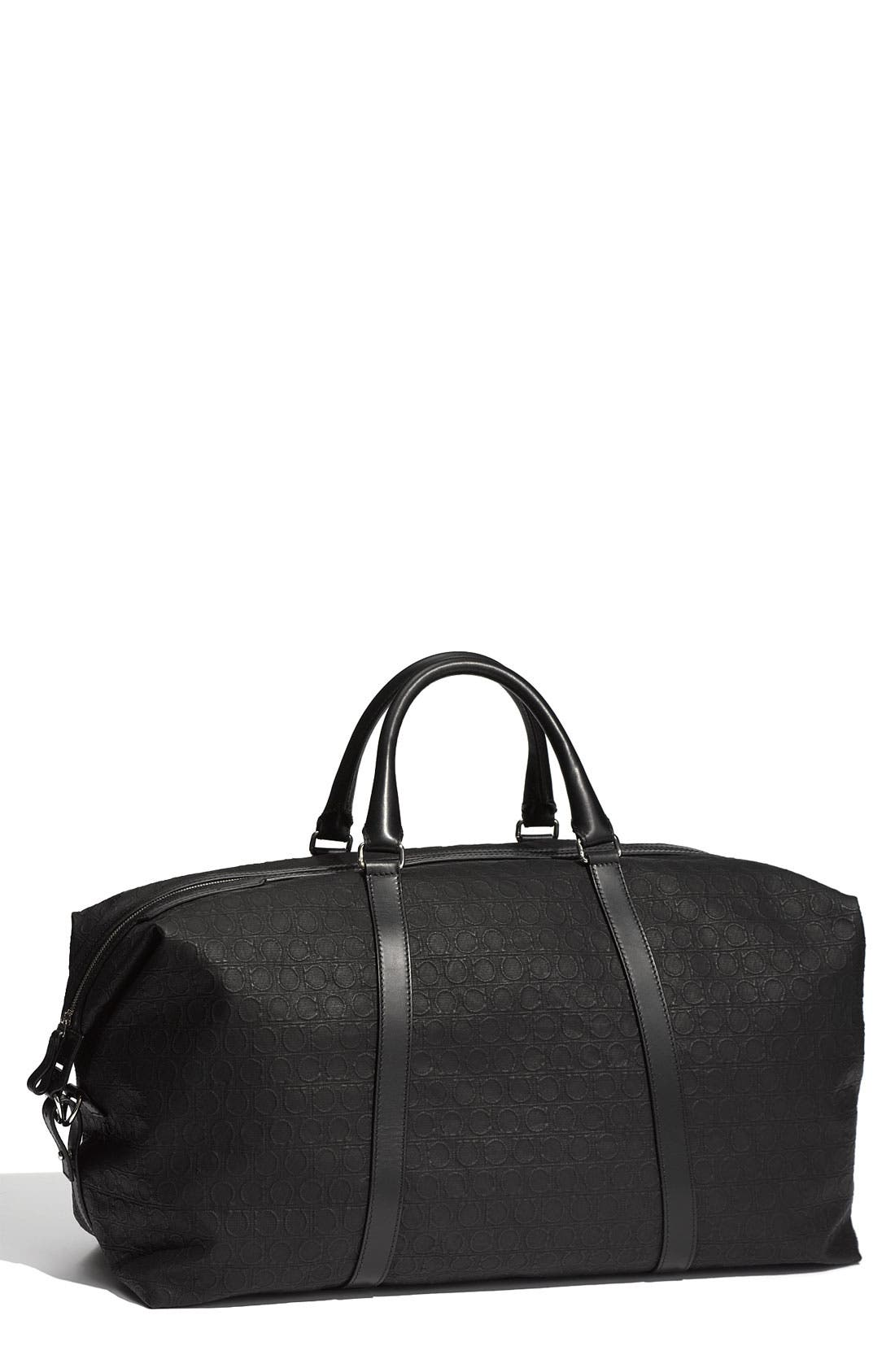 Alternate Image 1 Selected - Salvatore Ferragamo 'Miami Borsone Morbido' Duffel