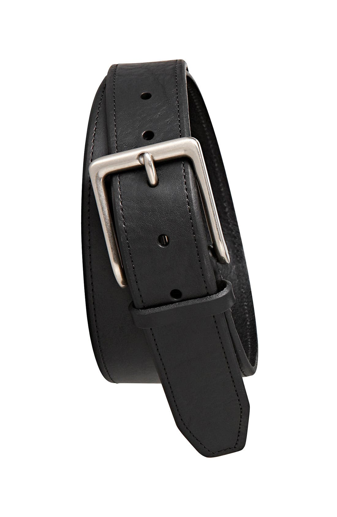 Alternate Image 1 Selected - Fossil 'Madison' Leather Belt
