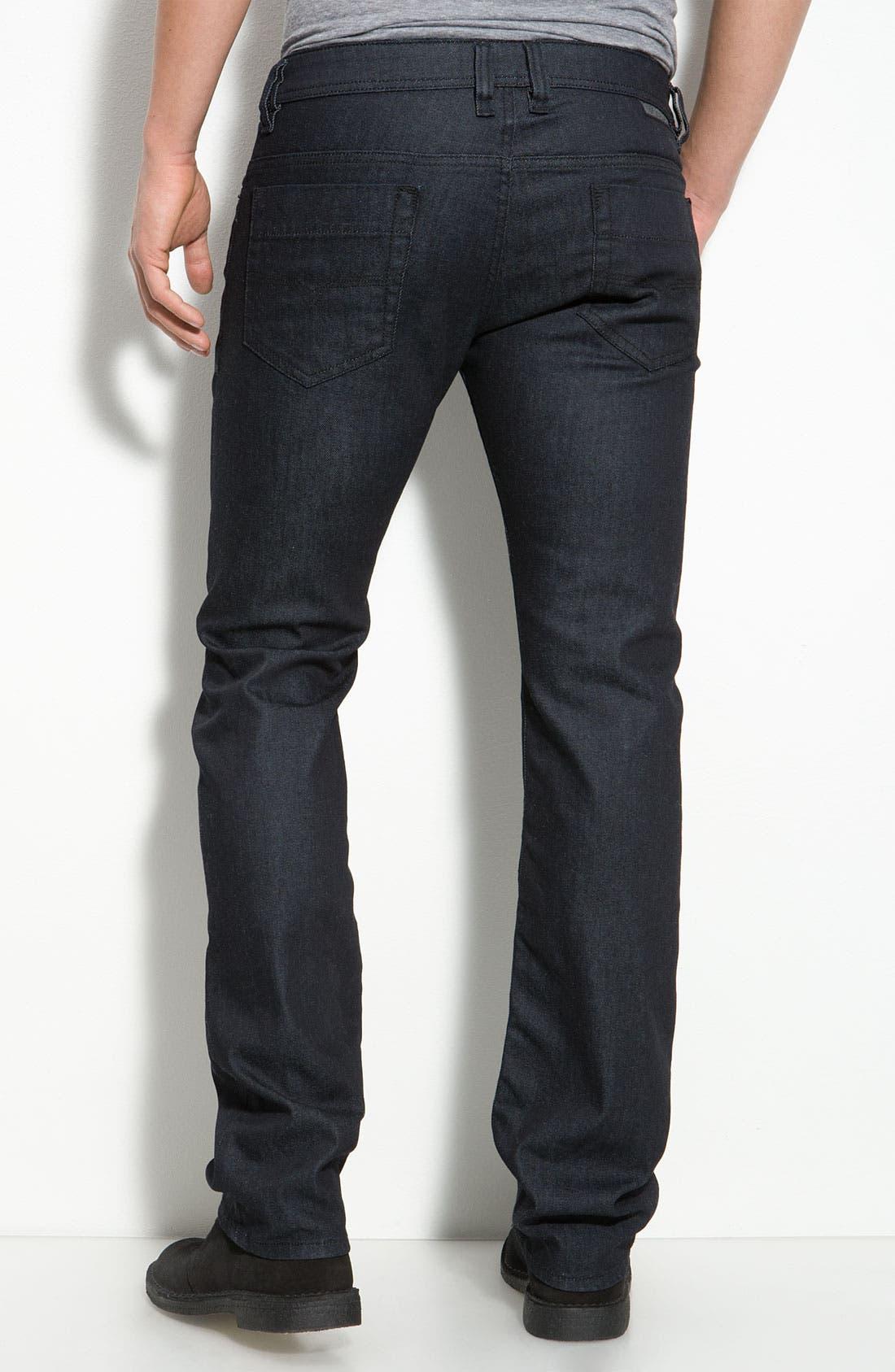 Alternate Image 1 Selected - DIESEL® 'Safado' Slim Straight Leg Jeans (AA8)