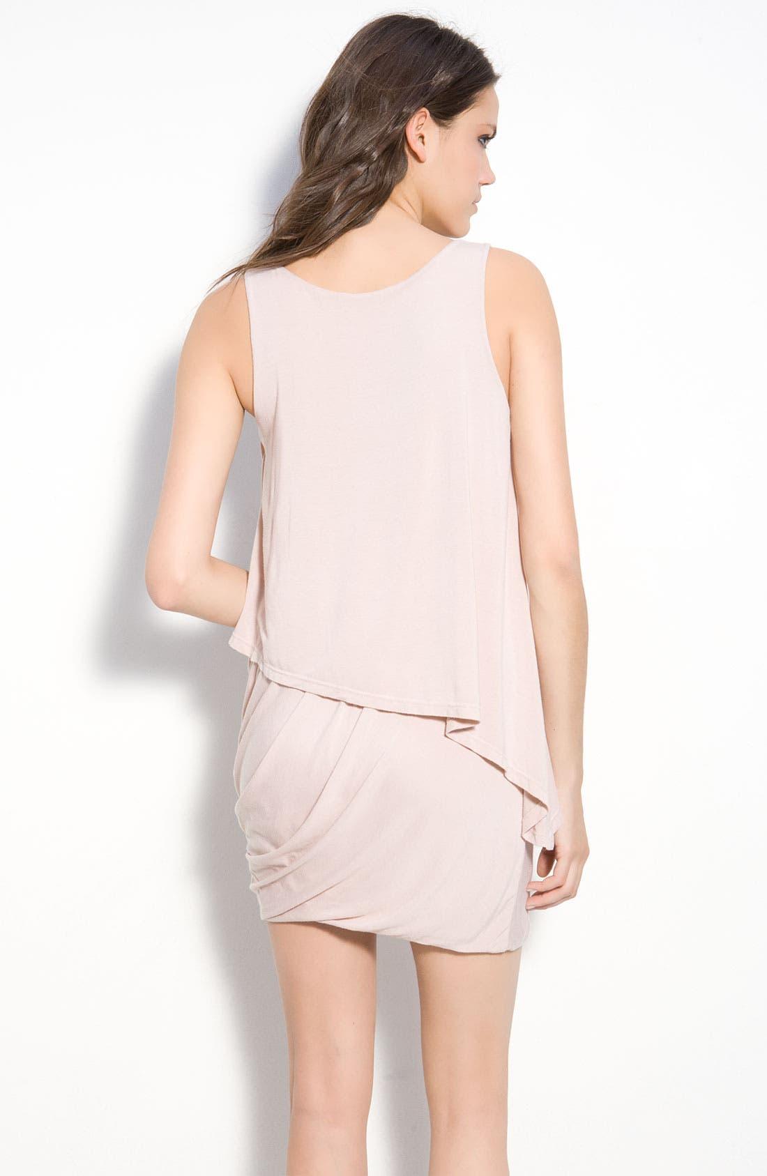 Alternate Image 2  - Krisa Asymmetrical Layered Tank Dress
