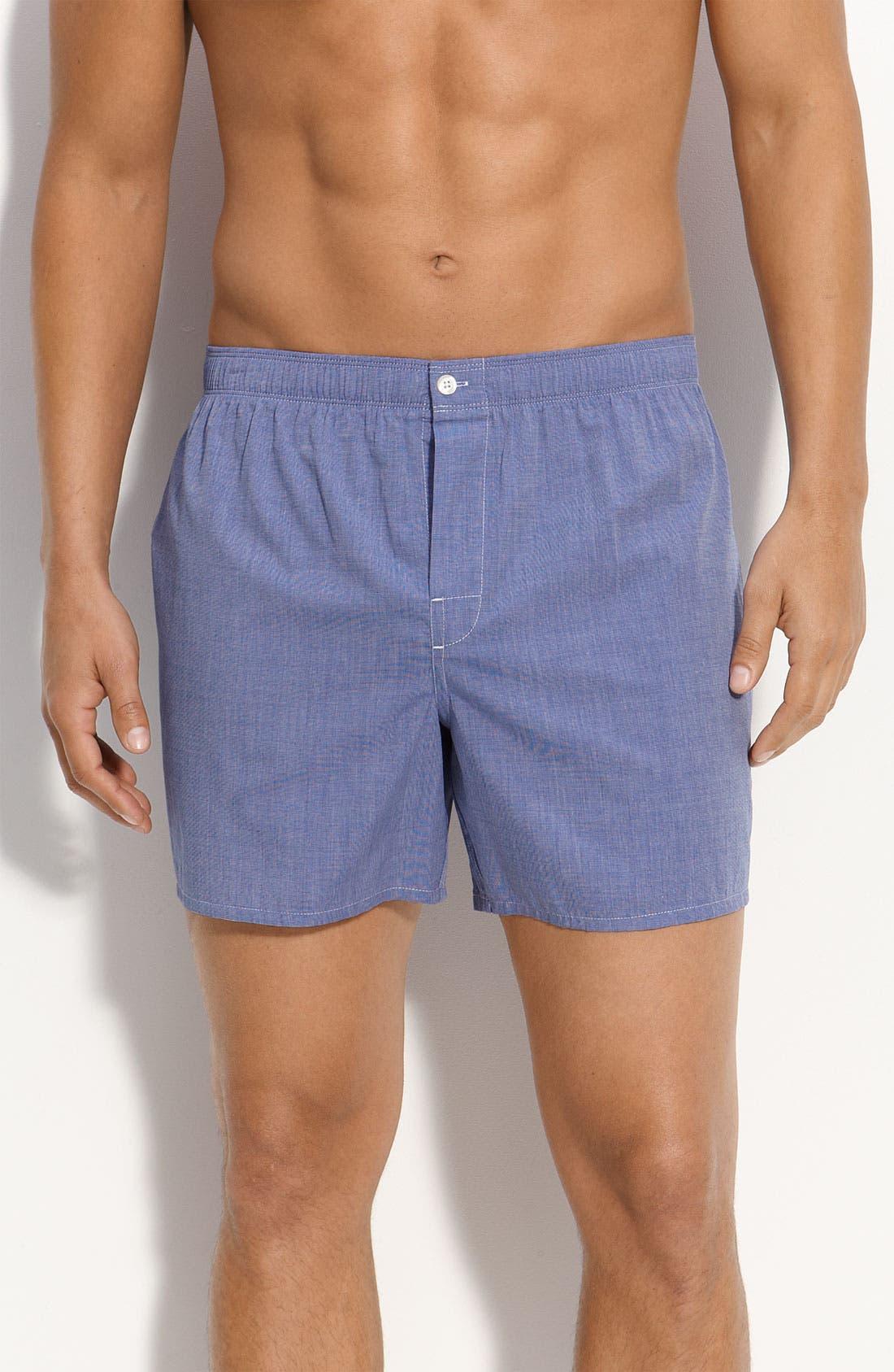 Main Image - Nordstrom Trim Fit Cotton Boxers