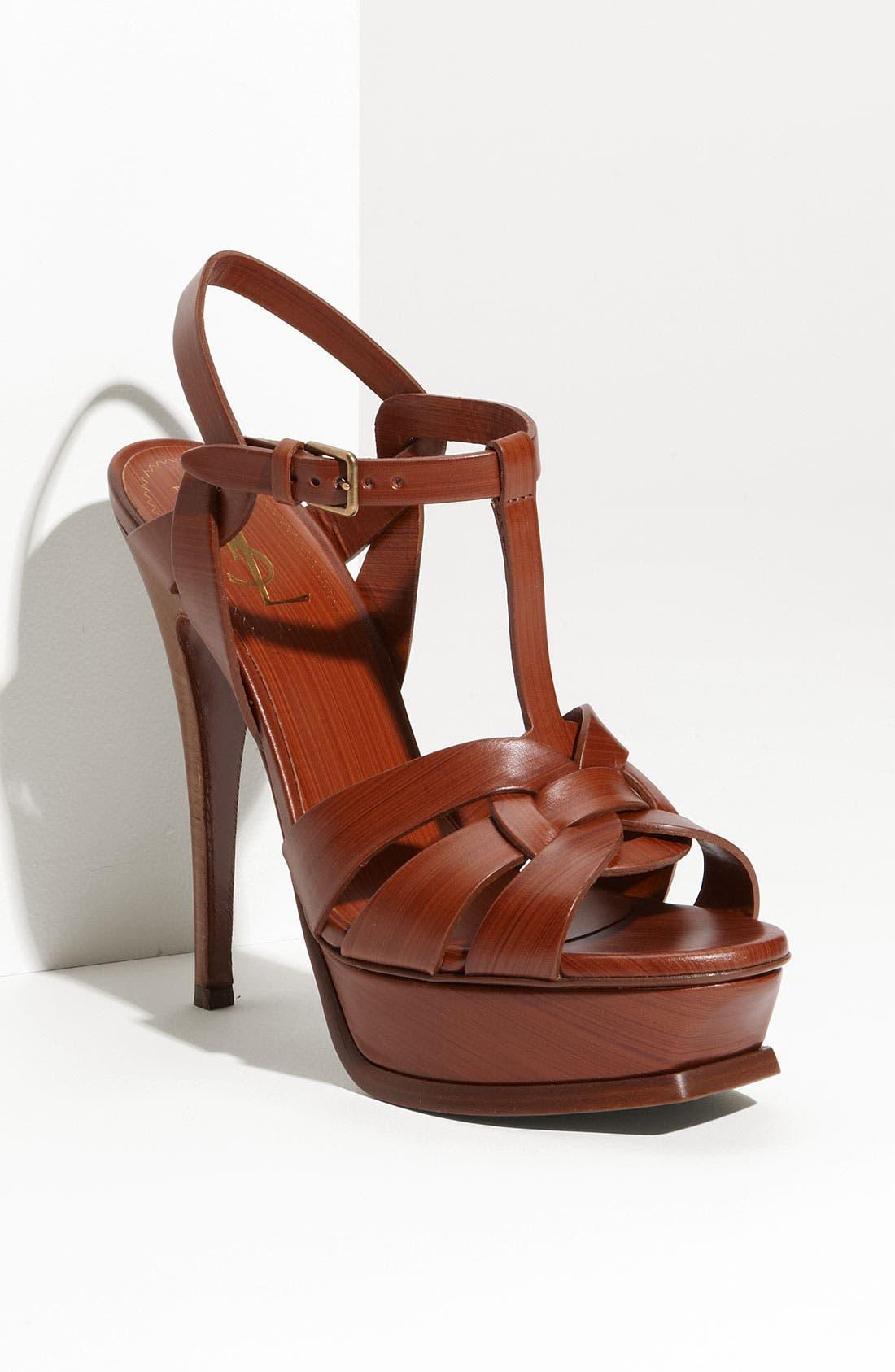 Alternate Image 1 Selected - Yves Saint Laurent 'Tribute' Platform Sandal