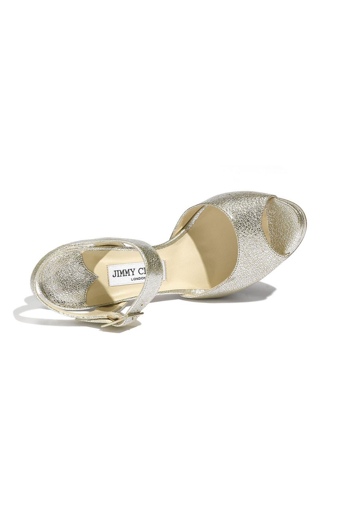 Alternate Image 3  - Jimmy Choo 'Linda' Sandal (Exclusive Color)