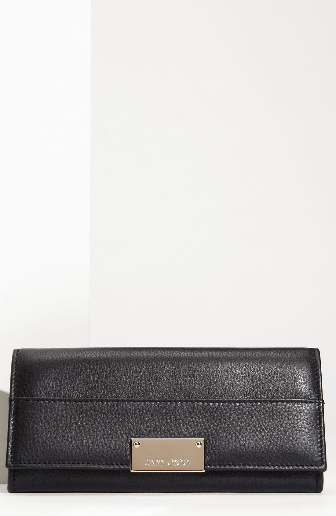 Main Image - Jimmy Choo 'Reza' Calfskin Leather Wallet