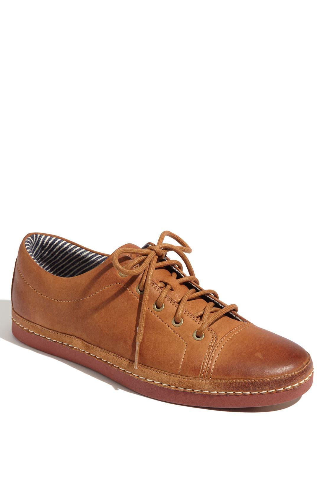 Alternate Image 1 Selected - UGG® Australia 'Duncan Bay' Leather Sneaker (Men)