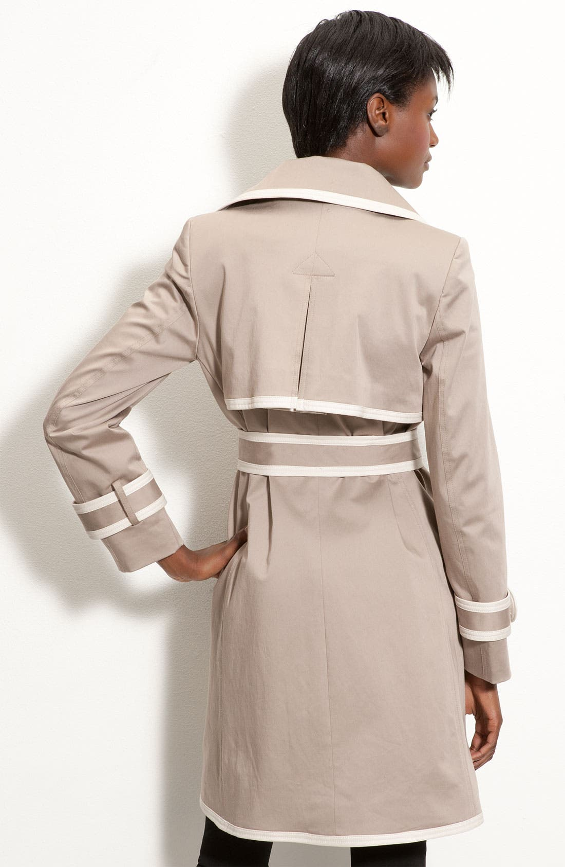Alternate Image 2  - Trina Turk Contrast Trim Trench
