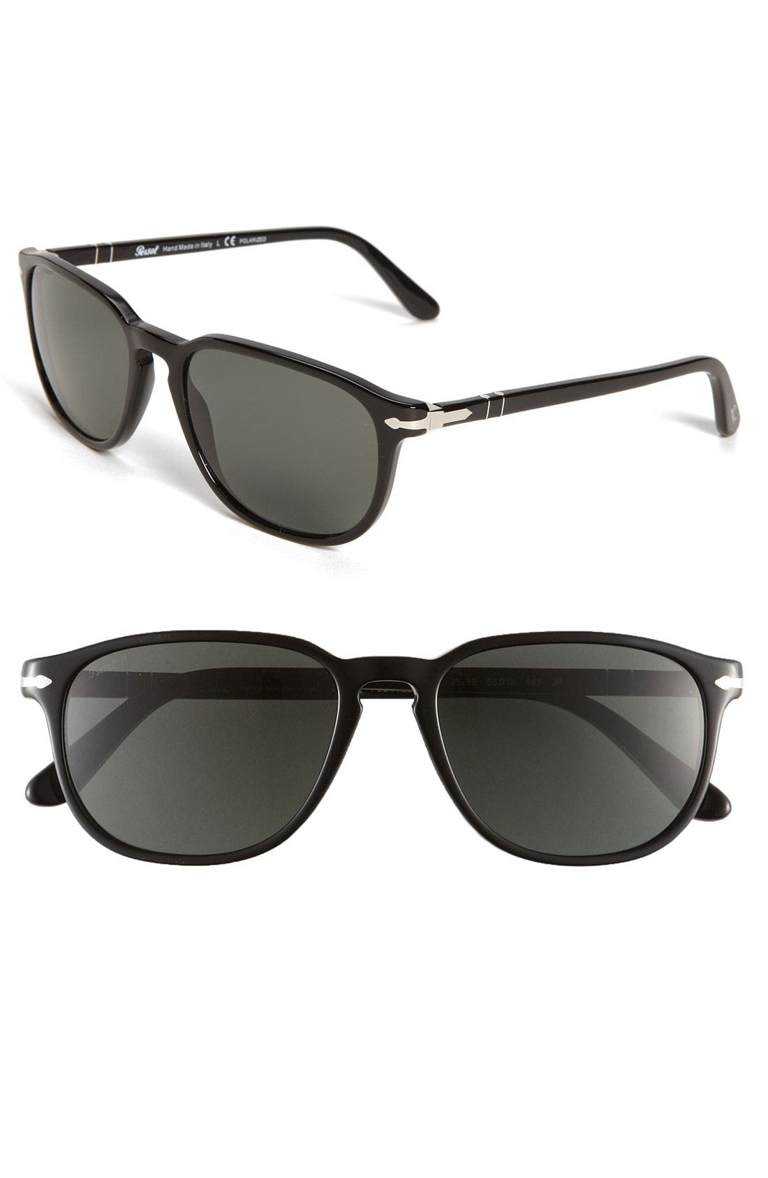 Alternate Image 1 Selected - Persol Polarized 55m Keyhole Sunglasses
