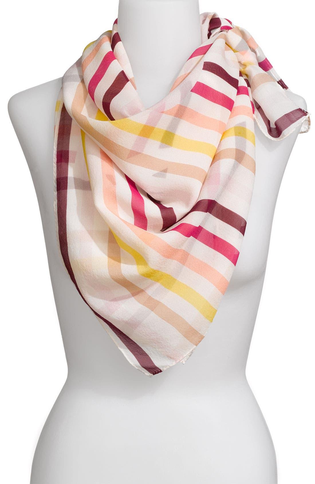 Alternate Image 1 Selected - Sonia Rykiel 'Carre Imprime Signature' Silk Scarf