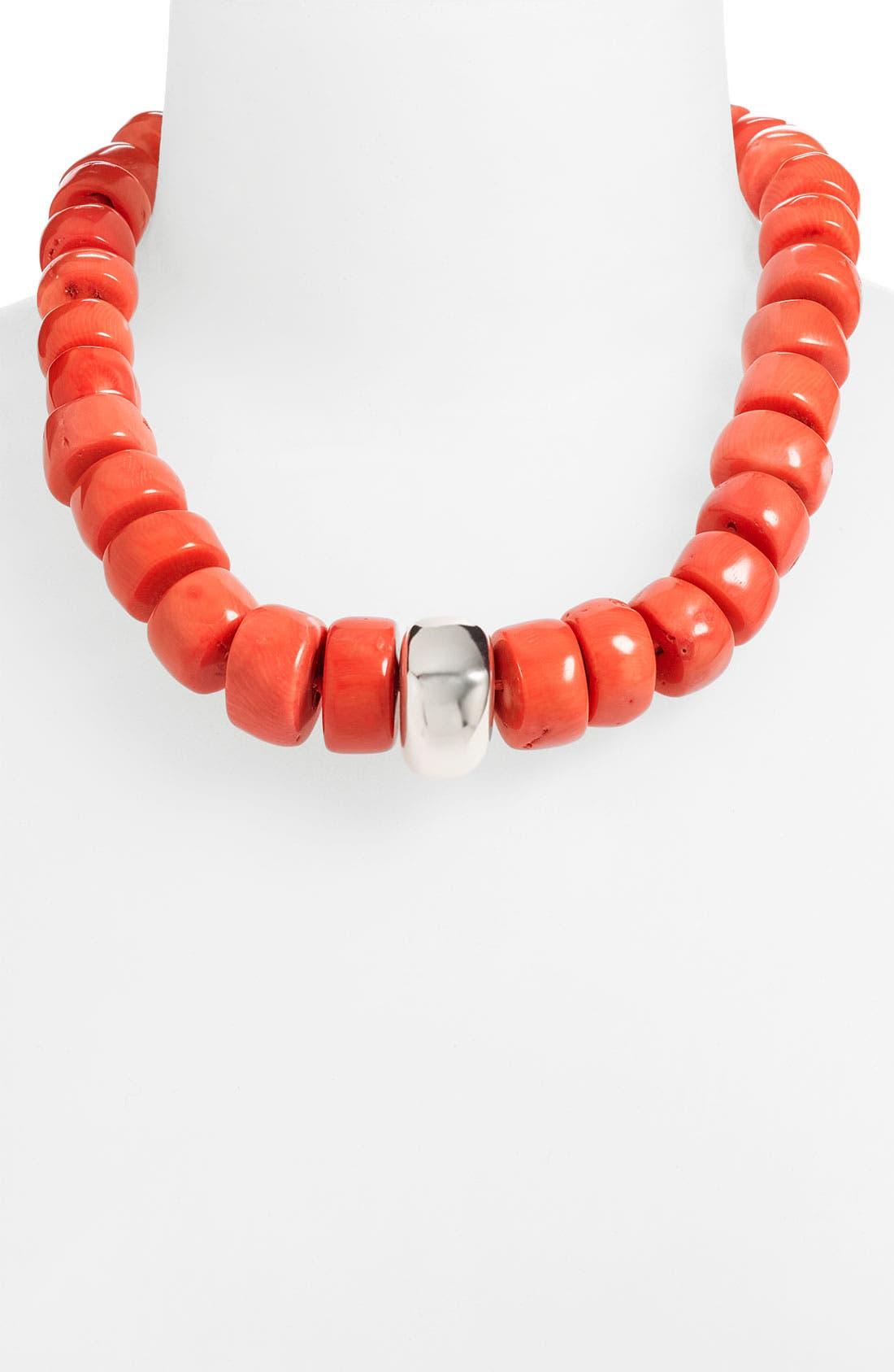 Main Image - Simon Sebbag 'Palm Beach' Coral Bead Necklace