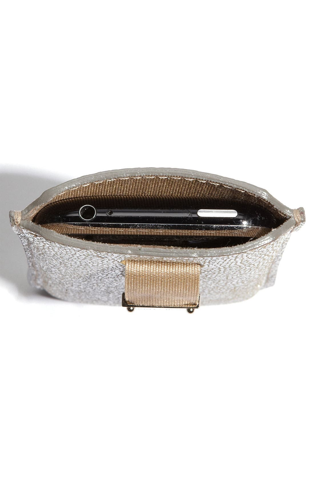 Alternate Image 3  - Jimmy Choo 'Trent' Leather iPhone Case