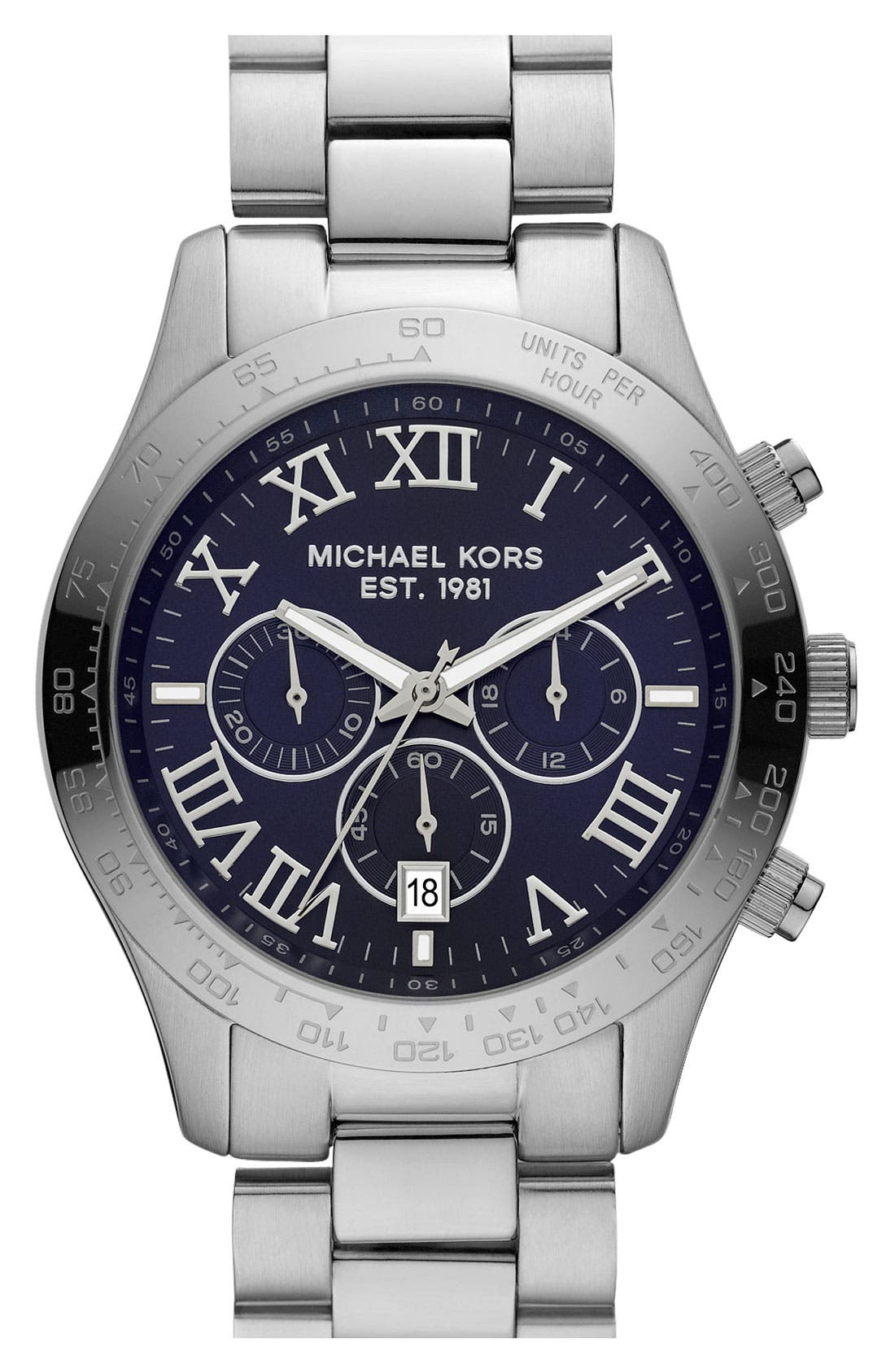 Main Image - Michael Kors 'Large Layton' Chronograph Watch