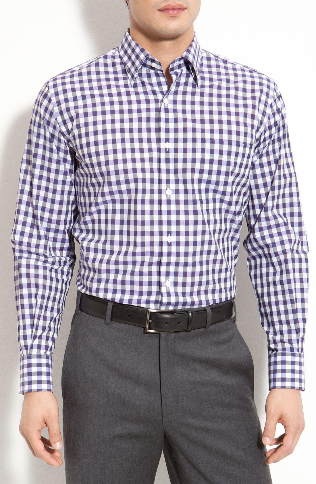 Main Image - Peter Millar 'Hombre Plaid' Sport Shirt