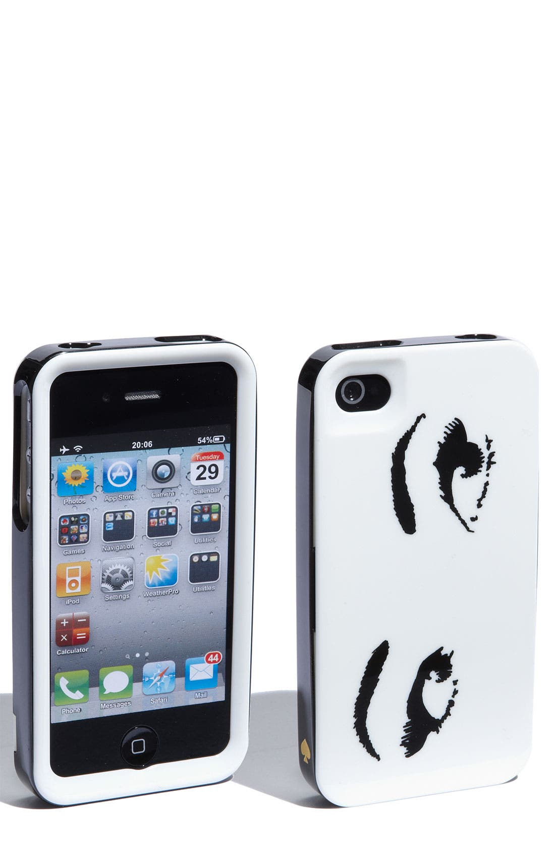 Alternate Image 1 Selected - kate spade new york 'all eyes' iPhone 4 & 4S case
