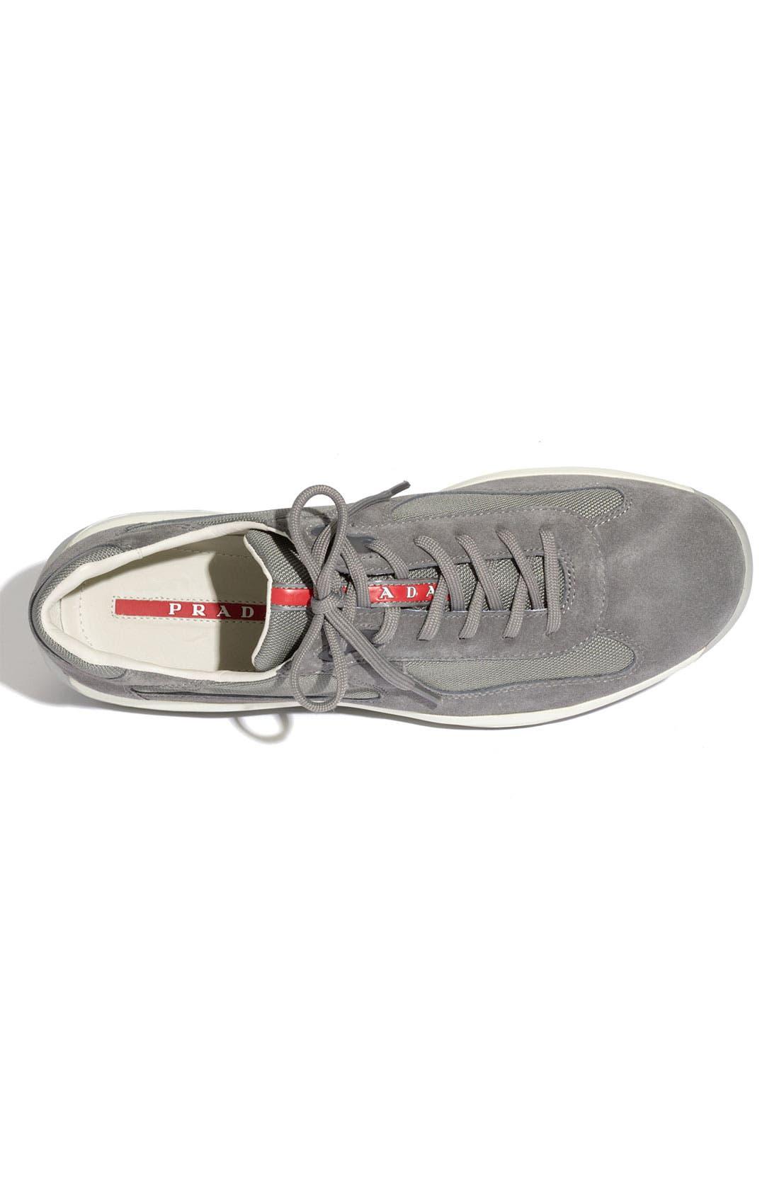 Alternate Image 3  - Prada 'Punta Ala' Suede Sneaker (Men)