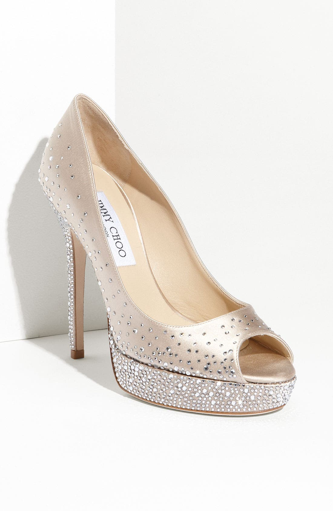 'Salt' Platform Pump,                         Main,                         color, Nude