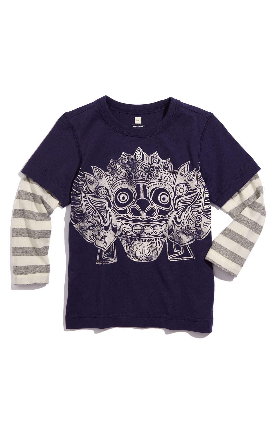 Main Image - Tea Collection Layered Sleeve T-Shirt (Toddler)