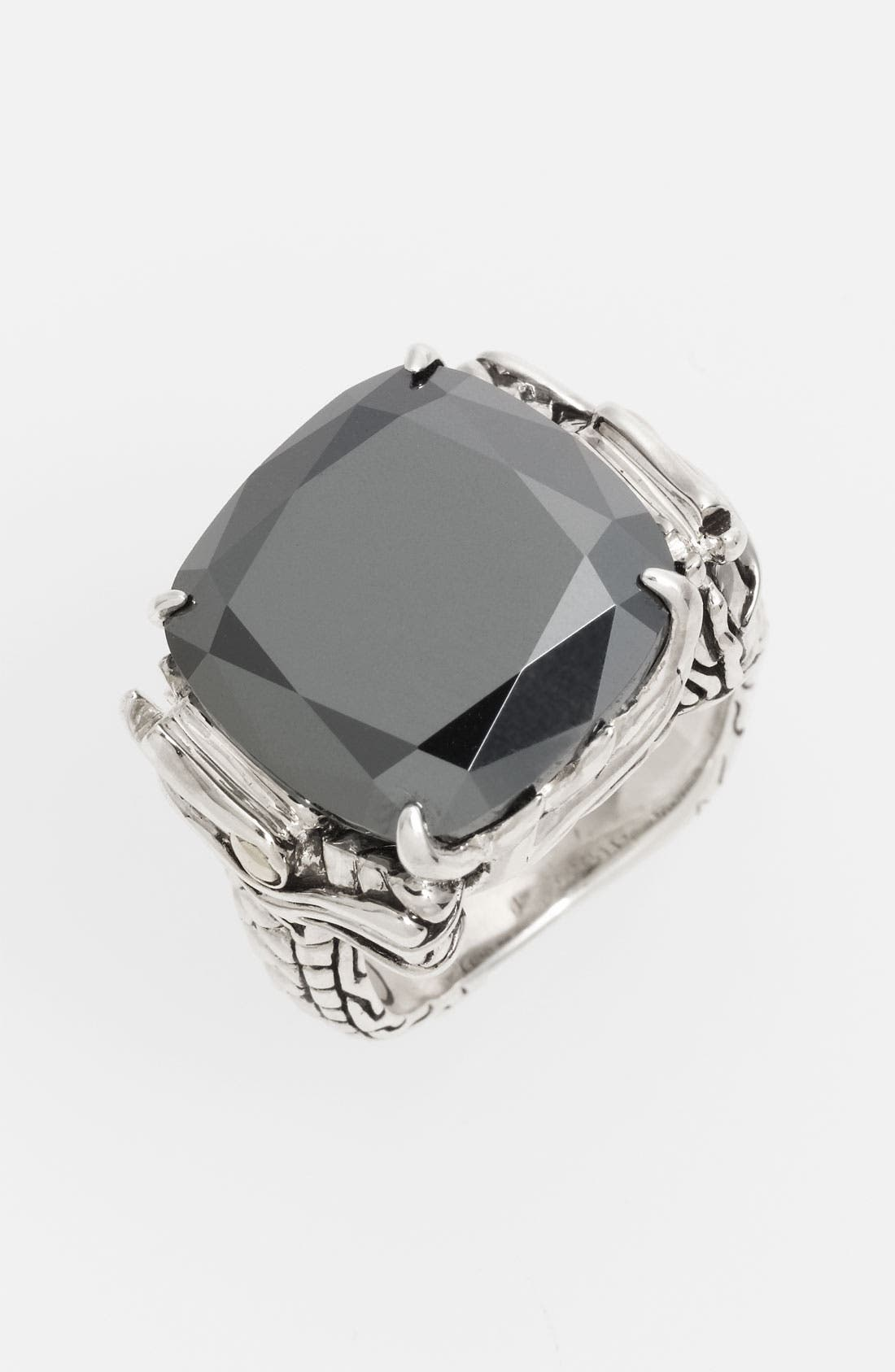 Alternate Image 1 Selected - John Hardy 'Naga' Square Stone Ring