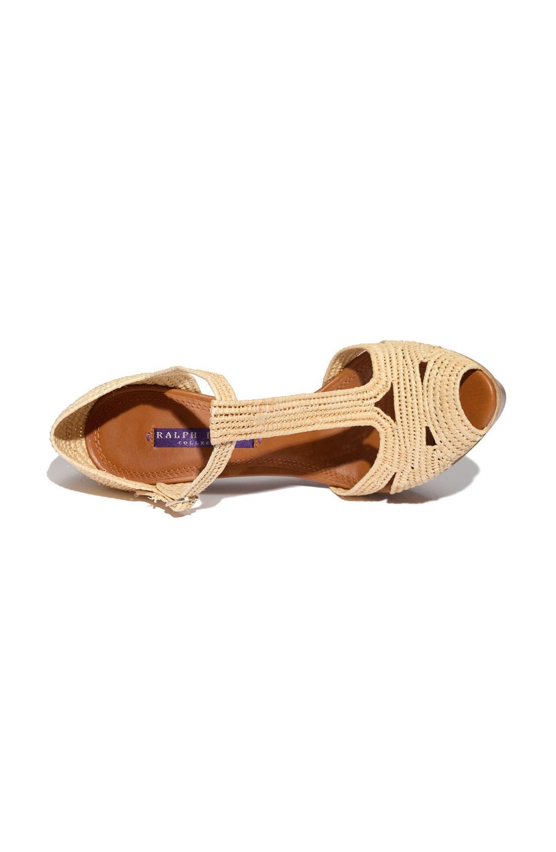 Alternate Image 3  - Ralph Lauren Collection 'Jedina' Sandal
