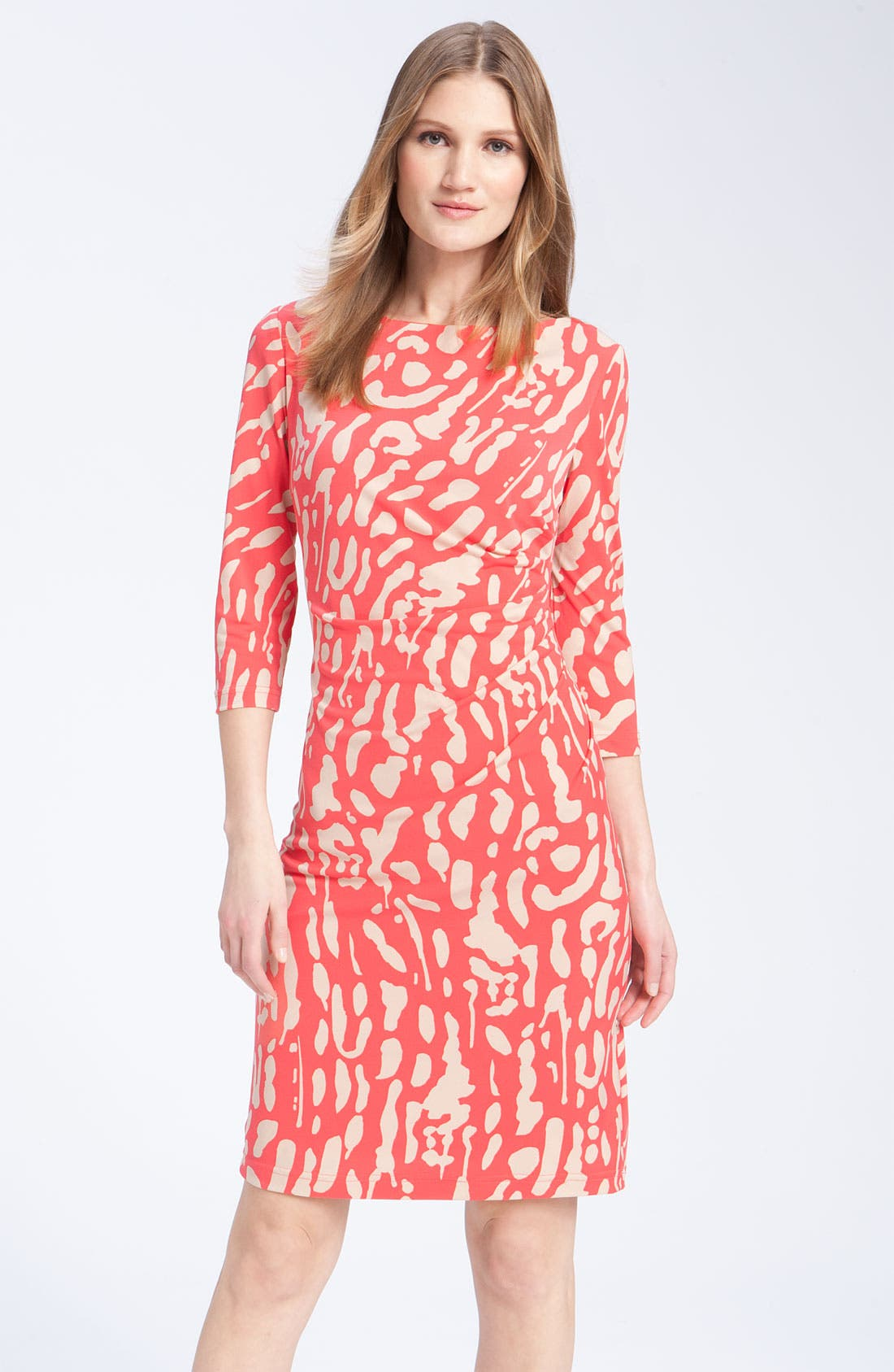 Alternate Image 1 Selected - Eliza J Print Jersey Dress