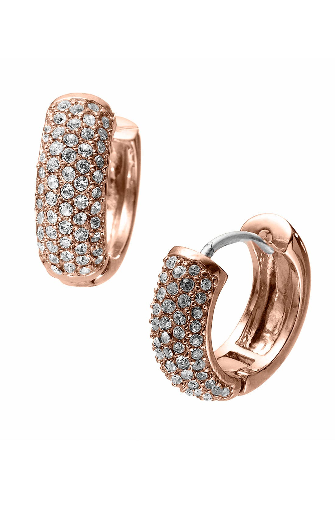 Main Image - Michael Kors 'Spring Sparkle' Hoop Earrings