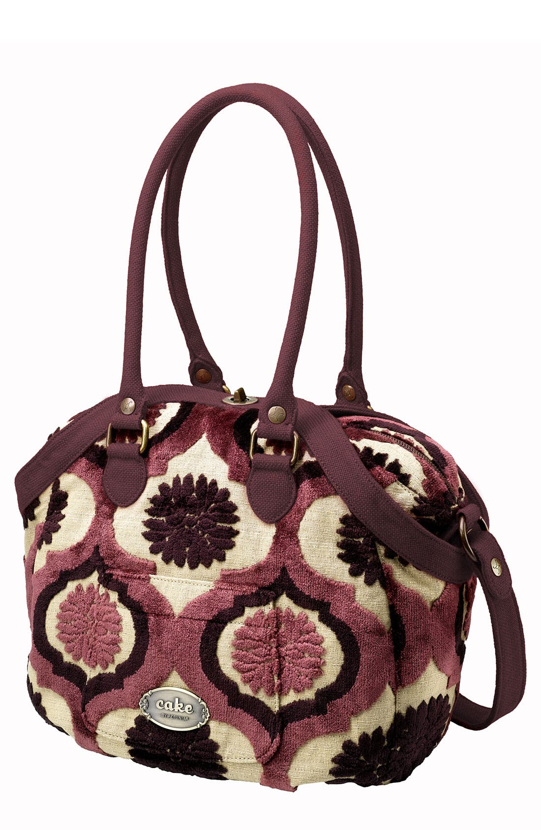 Alternate Image 1 Selected - Petunia Pickle Bottom 'Cake - Hampton Holdall' Diaper Bag