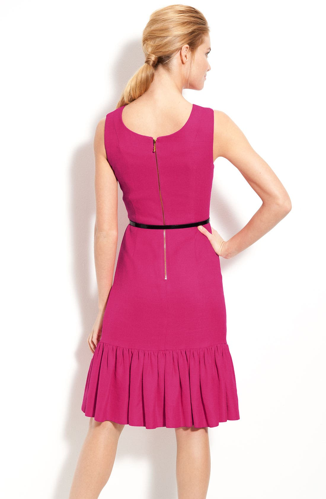 Alternate Image 2  - kate spade new york 'siren' ruffle hem sheath dress