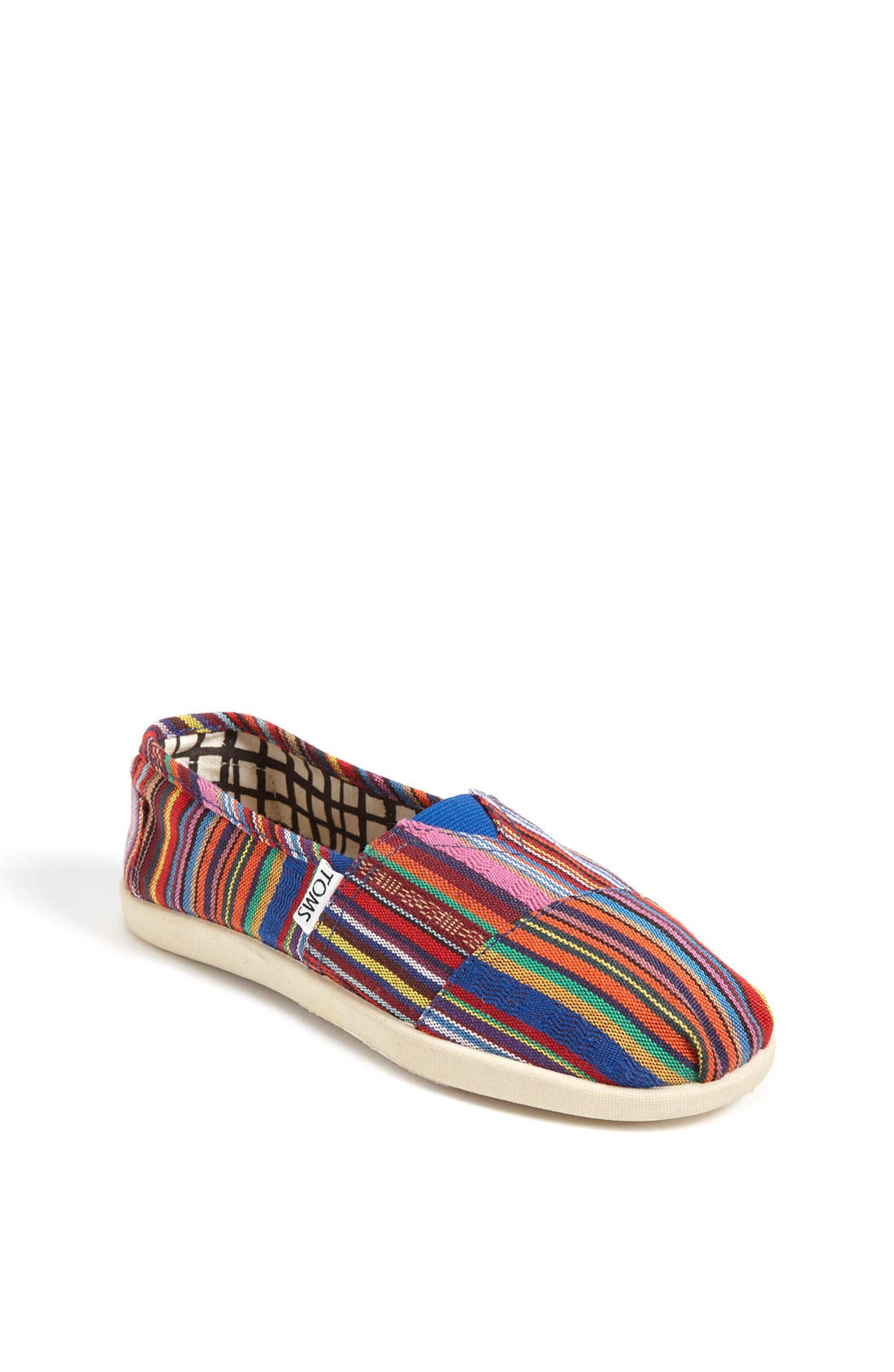 Main Image - TOMS 'Cruz - Youth' Canvas Slip-On (Toddler, Little Kid & Big Kid)