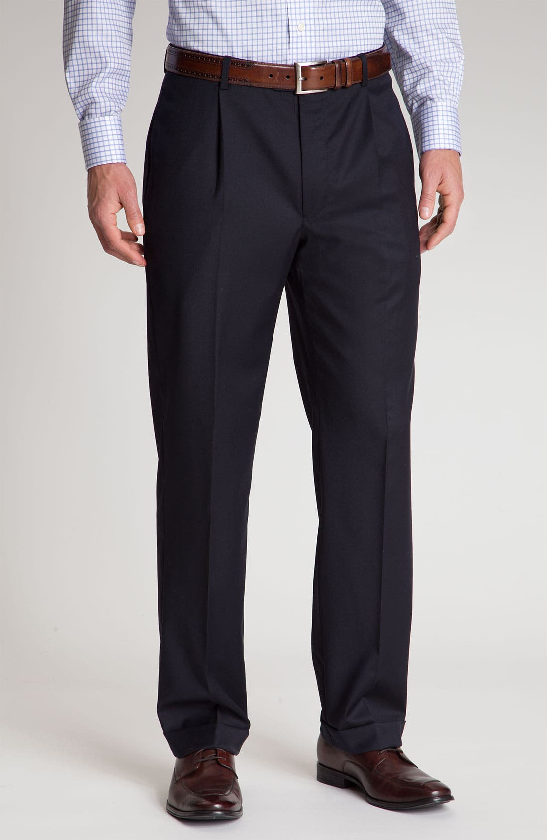Alternate Image 4  - Joseph Abboud 'Signature Silver' Navy Wool Suit