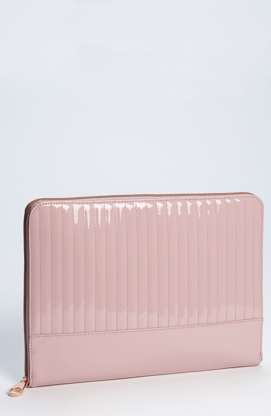 Alternate Image 1 Selected - Ted Baker London 'Ted Letter' Quilted Laptop Case (13 Inch)