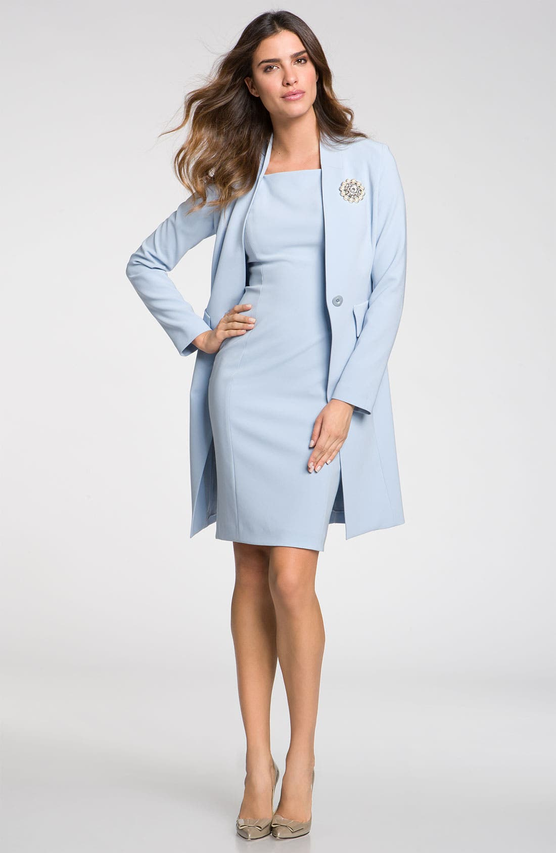 Main Image - St. John Collection Topper & Dress