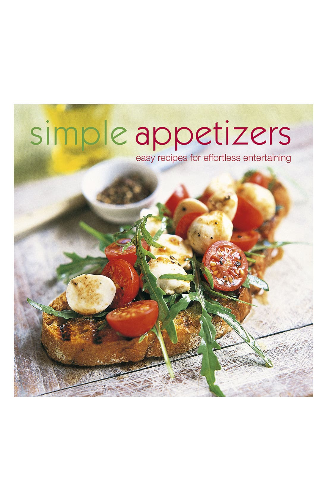 Alternate Image 1 Selected - 'Simple Appetizers' Cookbook