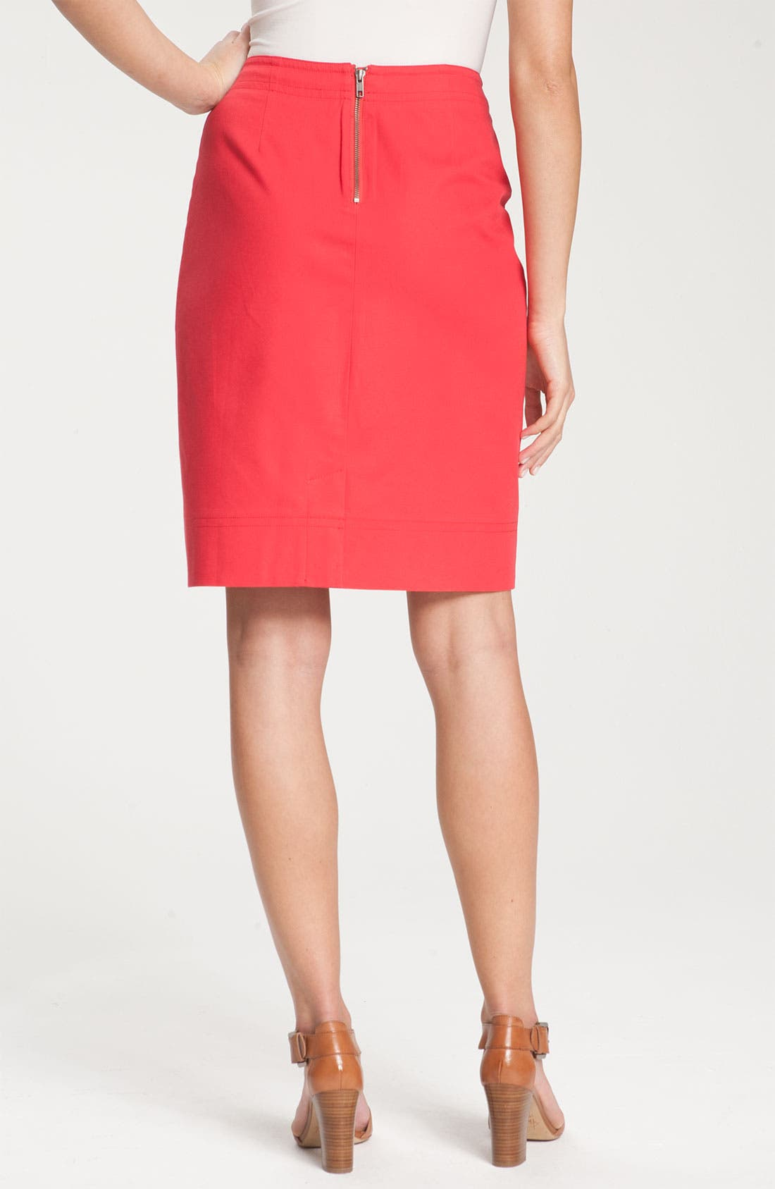 Alternate Image 2  - Nic + Zoe Stretch Twill Skirt